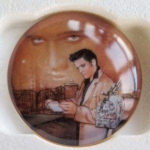 Elvis Presley Return to Sender Jewelry Music Box